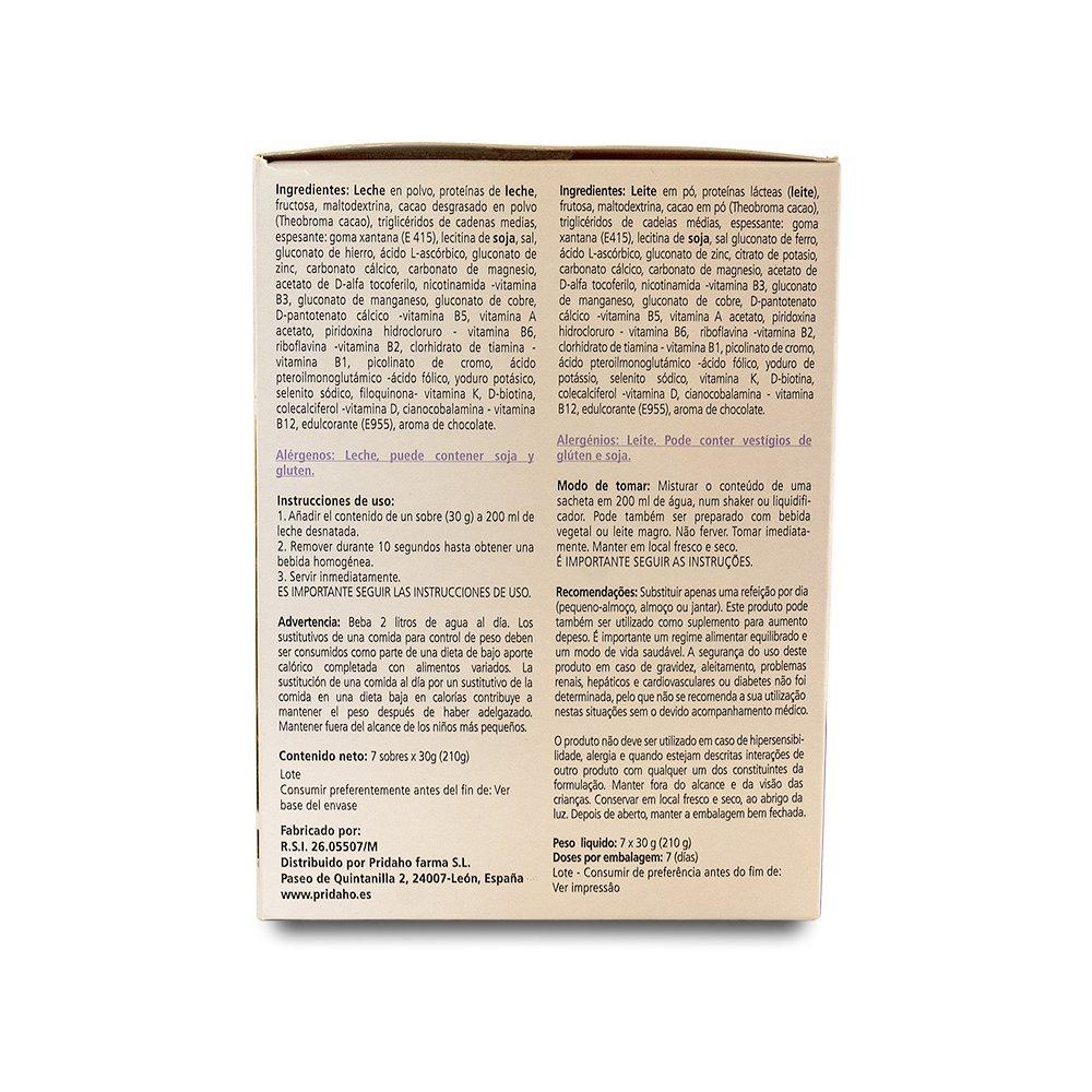 SANON - SANON Batido Sustitutivo Sabor Chocolate 7 sobres de 30 gr: Amazon.es: Salud y cuidado personal