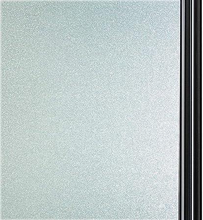 44.5cm x 200cm Qualsen Film pour Fen/être Film Electrostatique Film pour Vitre Prot/ége Intimit/é Autocollant de Fen/être