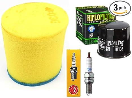 Amazon com: Tune Up Kit OEM Air Filter Oil Filter Spark Plug