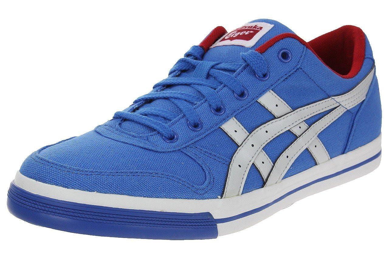 Onitsuka Tiger Aaron CV Sneaker Blue / Light Grey, : Amazon.co.uk ...