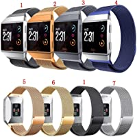 CHOUREN Milanese Loop Stainless Steel Band Strap For Fitbit Ionic Smart Watch (Color : 1)
