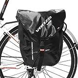 VENZO 600D TPU Waterproof Bike Bicycle Rear Pannier Bag