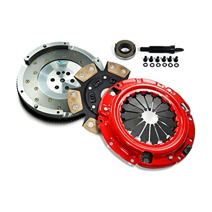 Amazon.com: EFT STAGE 3 CLUTCH KIT + FIDANZA FLYWHEEL 91-99 3000GT STEALTH 3.0L V6 NON-TURBO: Automotive