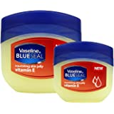 VASELINE BlueSeal Gentle Petroleum Jelly (Vitamin E), Lip therapy Portable Small Vaseline 1.7oz