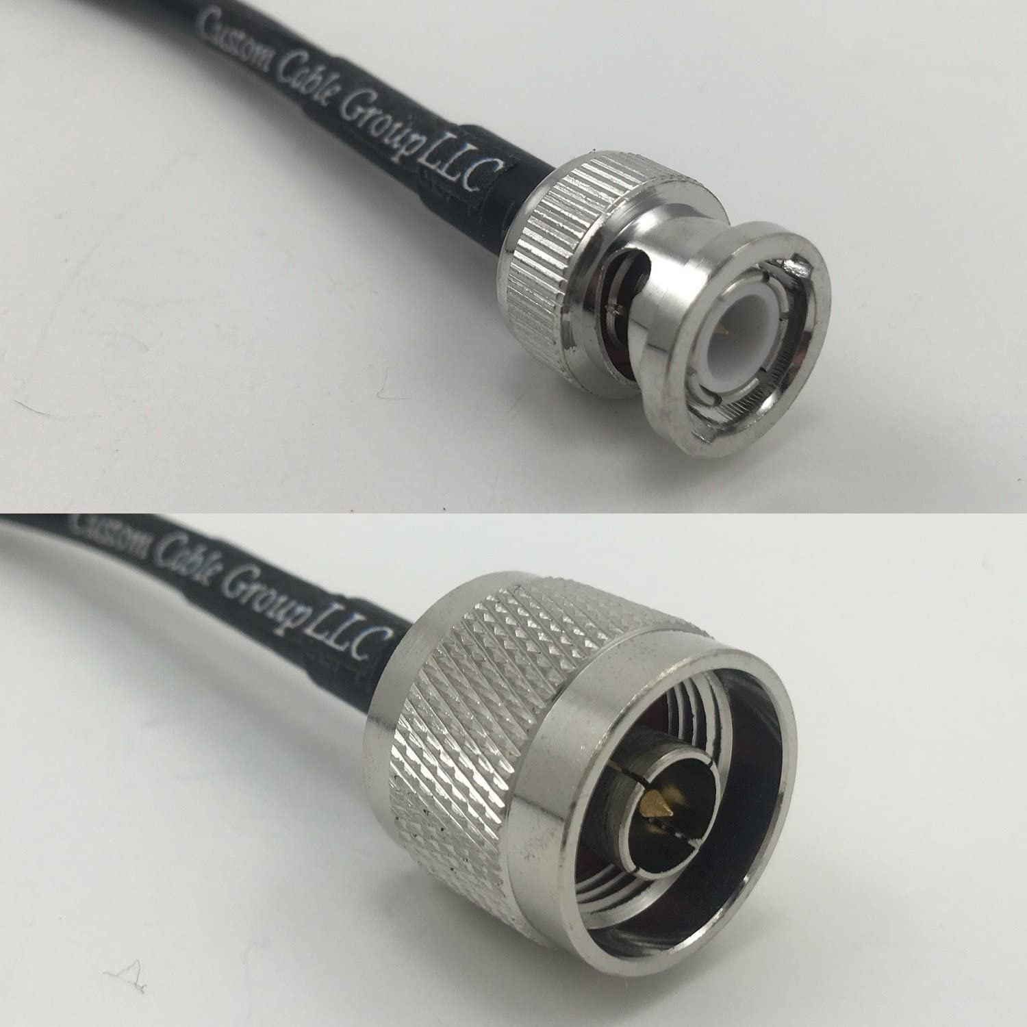 6 feet RG58 BNC MALE to N MALE Pigtail Jumper RF coaxial cable 50ohm Quick USA Shipping