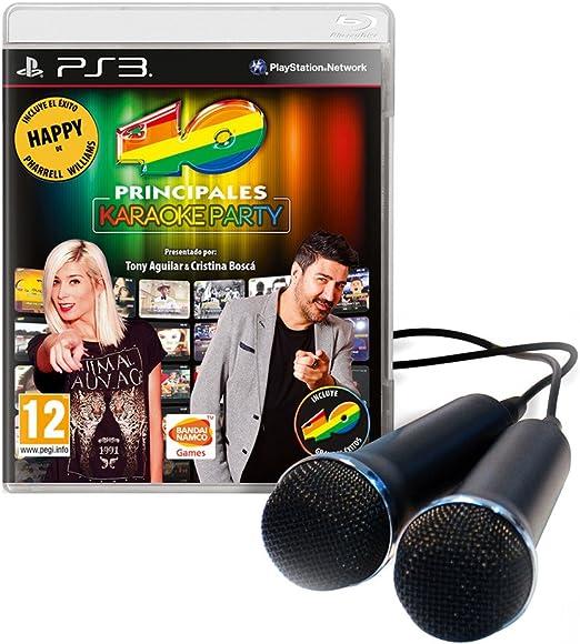 Los 40 Principales: Karaoke Party: Amazon.es: Videojuegos