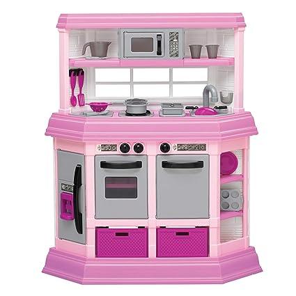 amazon com american plastic toy deluxe custom kitchen toys games rh amazon com American Plastic Play Kitchen American Plastic Play Kitchen