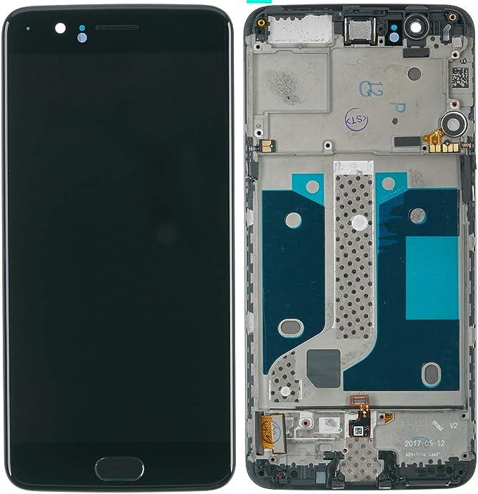 Pantalla LCD táctil con marco digitalizador para OnePlus 5, color ...