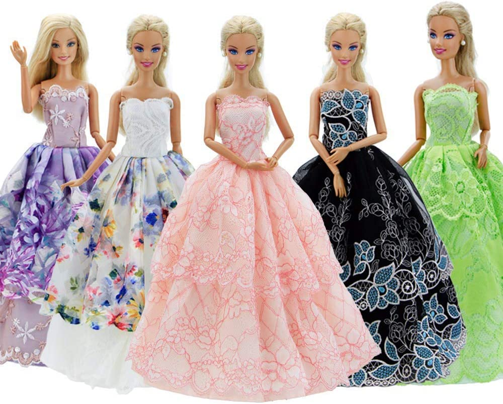 Handmade For Barbie Gown For Barbie Ballgown For Barbie Dress For Barbie Clothes