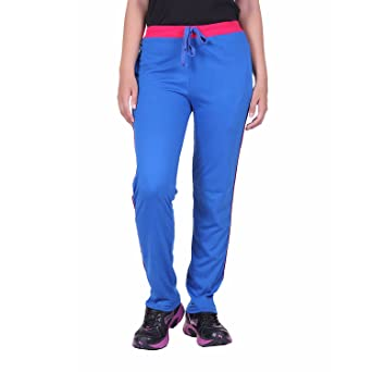 DFH Women's Regular Fit Track Pant Women's Sports Trousers at amazon
