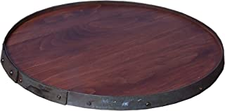 product image for 2 Day Designs Raised Ring Lazy Susan