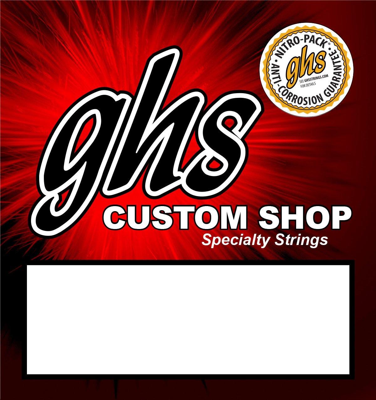 Lap Steel Guitar Strings GHS Custom 6 Strings A6 tuning - 15-36w gauges - 2 Sets