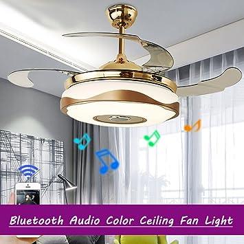 Moderne 42 U0027u0027 Deckenventilator Licht Mit LED Licht Kit Für Esszimmer Fan  Kronleuchter