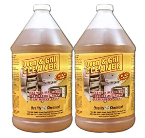Oven & Grill Cleaner Heavy-Duty. High Power! Nothing Stronger.-2 gallon case