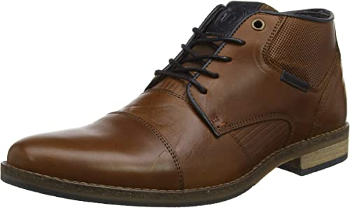 Dune Mens CHIGWELL Lace Up Chukka Boots