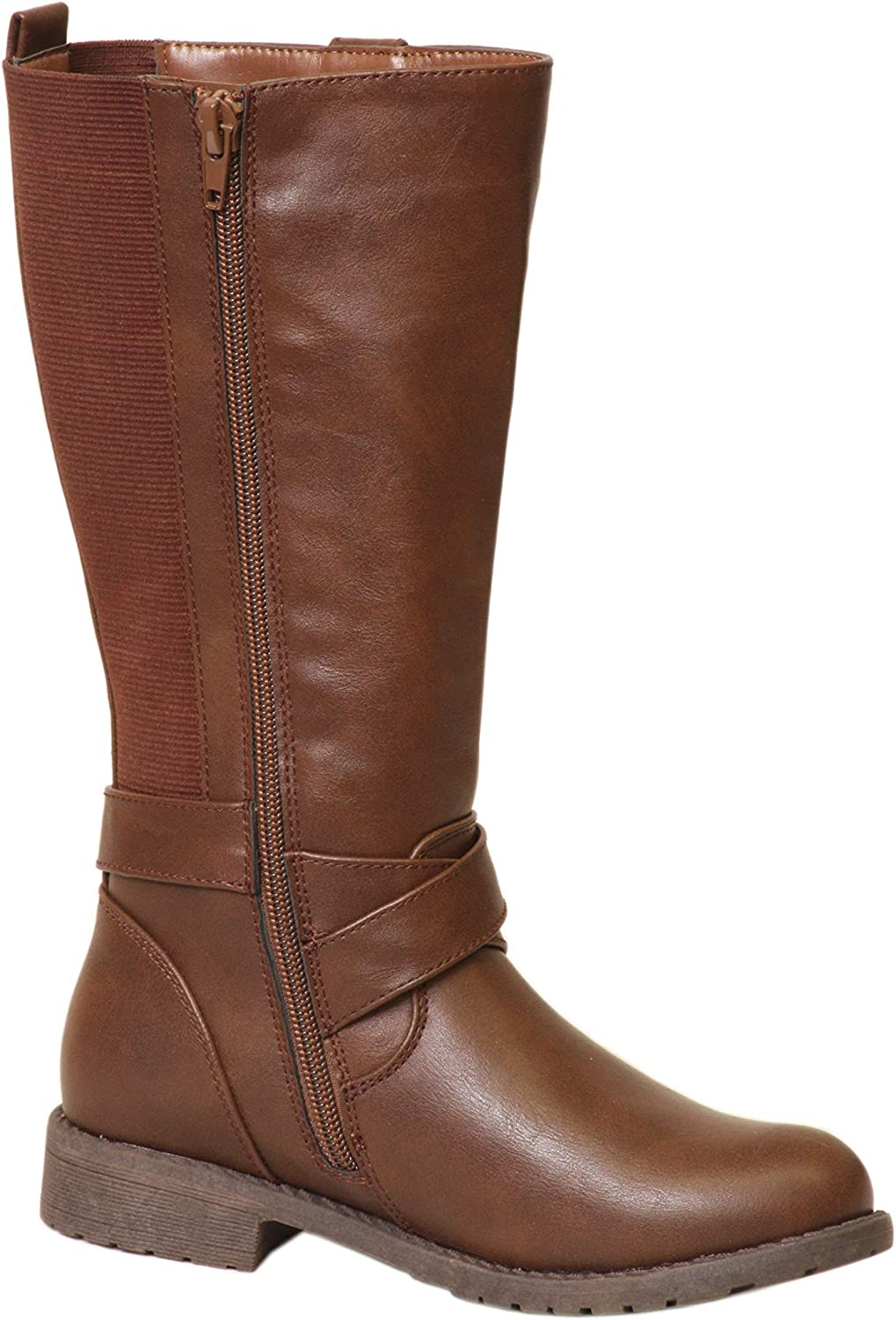 girls brown riding boots