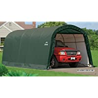 ShelterLogic Replacement Cover 12x20 Round Garage in a box 90603 for model 62779 (7.5oz Green)