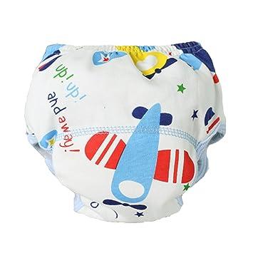 babykiss bebé transpirable bolsa para pañales resistente al agua pantalones de aprendizaje (0 – 14