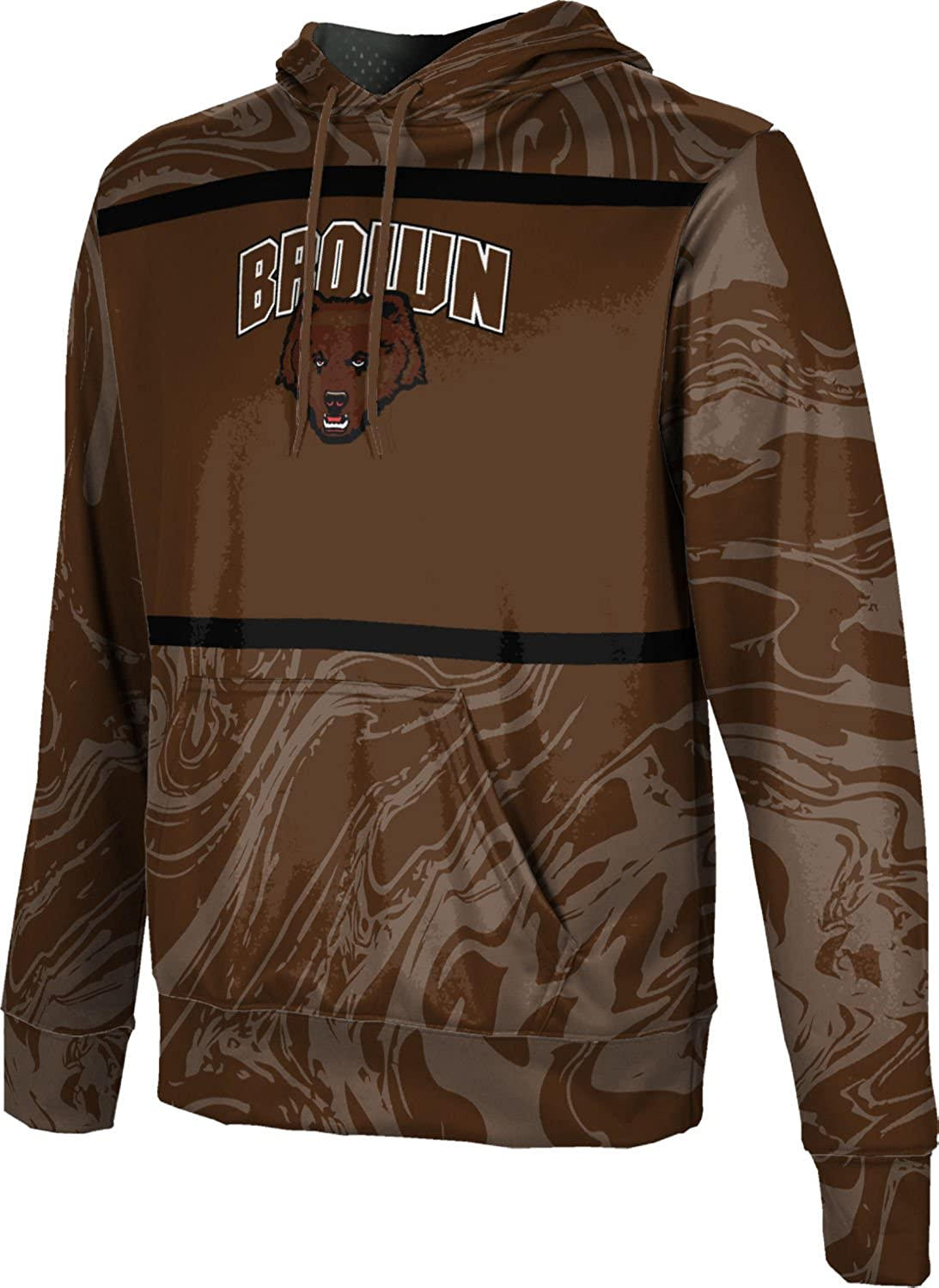 ProSphere Brown University Boys Hoodie Sweatshirt Ripple