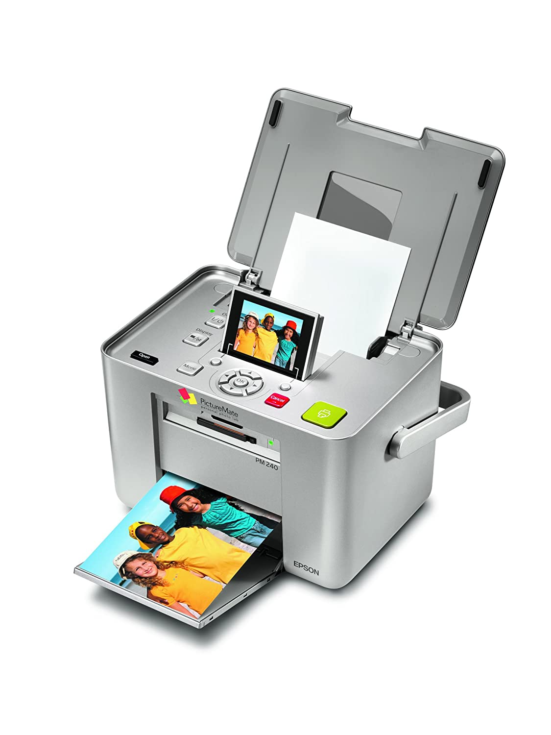 Amazon.com: Epson PictureMate 240 Snap (PM) 4 x 6 Photo ...
