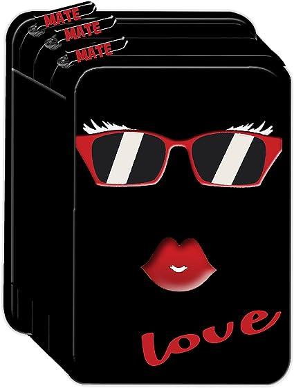 Estuche 3zip mate 3 cremallera Escuela 2018 completo Love Black: Amazon.es: Oficina y papelería
