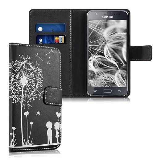 13 opinioni per kwmobile Custodia portafoglio per Samsung Galaxy J5 (2015)- Cover a libro in