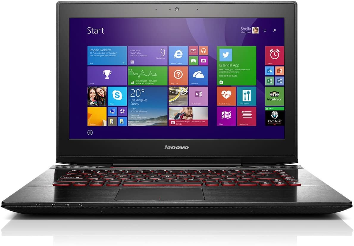 "Lenovo Y40-80 Laptop - Core i7-5500U, 8GB RAM, 14.0"" Full HD Display, AMD Radeon R9 M275 2GB, 1TB HDD + 8GB SSHD - 80FA002CUS"