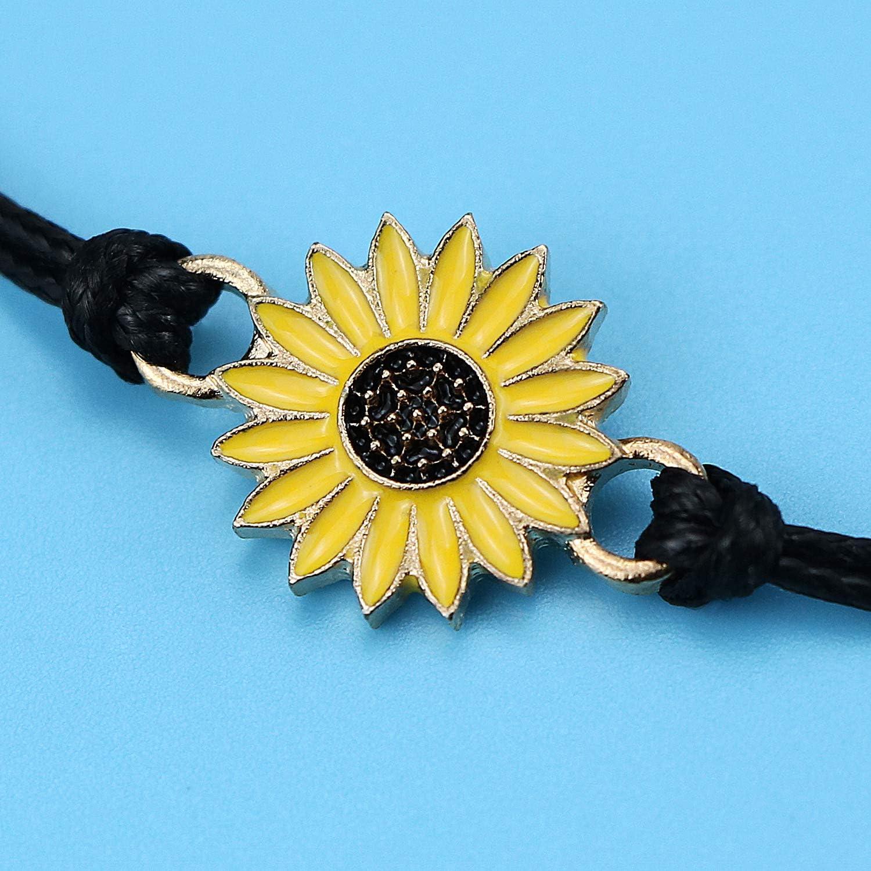 Bracelets m/ère fille ensemble assorti cordon String Bracelet cadeau de maman /à la relation de fille /à la main souhait bijoux pour femmes filles
