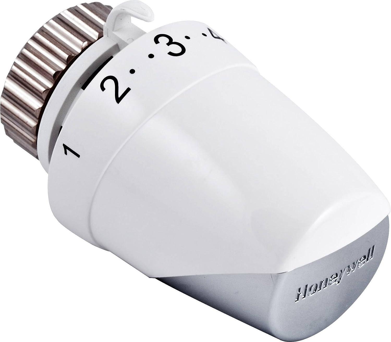 schwarz//chrom Honeywell Thera 200 Design Thermostatkopf T4321