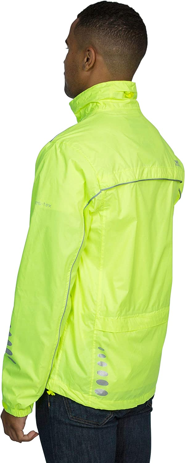 Trespass Waterproof Axle Mens Outdoor Cycling Jacket available in