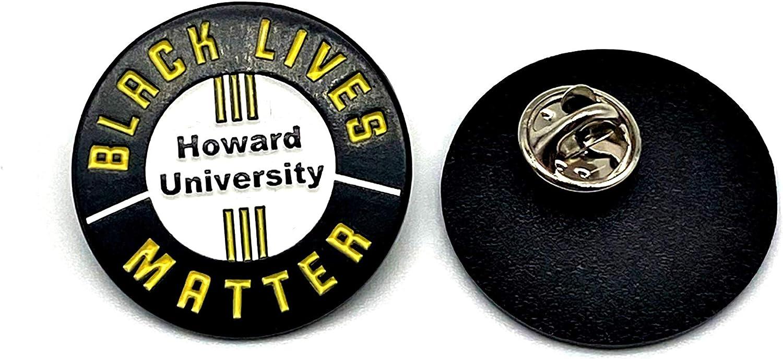 NOTHA LVL Black Lives Matter – College & University Lapel Pins | BLM Protest Button for Shirts Jackets Backpacks Bags Hats & Office Décor | Language for Women & Men | Novelty Enamel Black Power