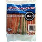 The Coin-Tainer Co. Flat Coin Wrappers, Assorted, 100 Count (60220)