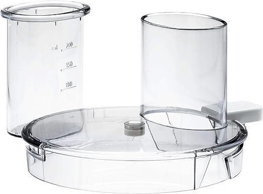 Philips Tapa para robot de cocina CP9822/01 - Accesorio procesador de alimentos (Transparente, De plástico, HR7627, HR7628): Amazon.es: Hogar