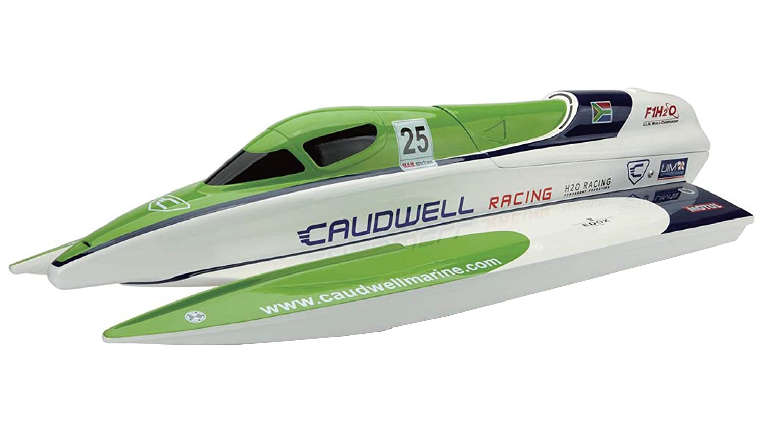 Amewi 26057 Stiefel F1 ARTR Caudwell Racing-AMX Boat line