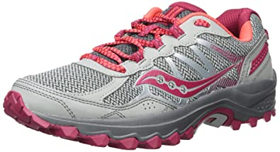 f74a99302e52 Saucony Women s Excursion TR11 Running Shoe Grey Pink 5 Medium US