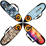CLEARANCE SALE - ONLY $49 / BAG!! Surfboard bags for shortboards & fun boards by Quiver9 | Hard-wearing, water-resistant, corrosion-proof travel bag or board cover.