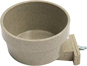Happy Home Pet Products Quick Lock Cage Bowls for Dogs (20 Ounce)