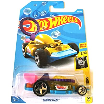 Hot Wheels 2020 Experimotors Bubble Matic 293/365, Yellow: Toys & Games