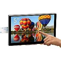 OSOYOO 5-calowy wyświetlacz LCD DSI Touch Sceen 800 x 480 do Raspberry Pi 4 B 3 model B+ 2 | pojemnościowy ekran…