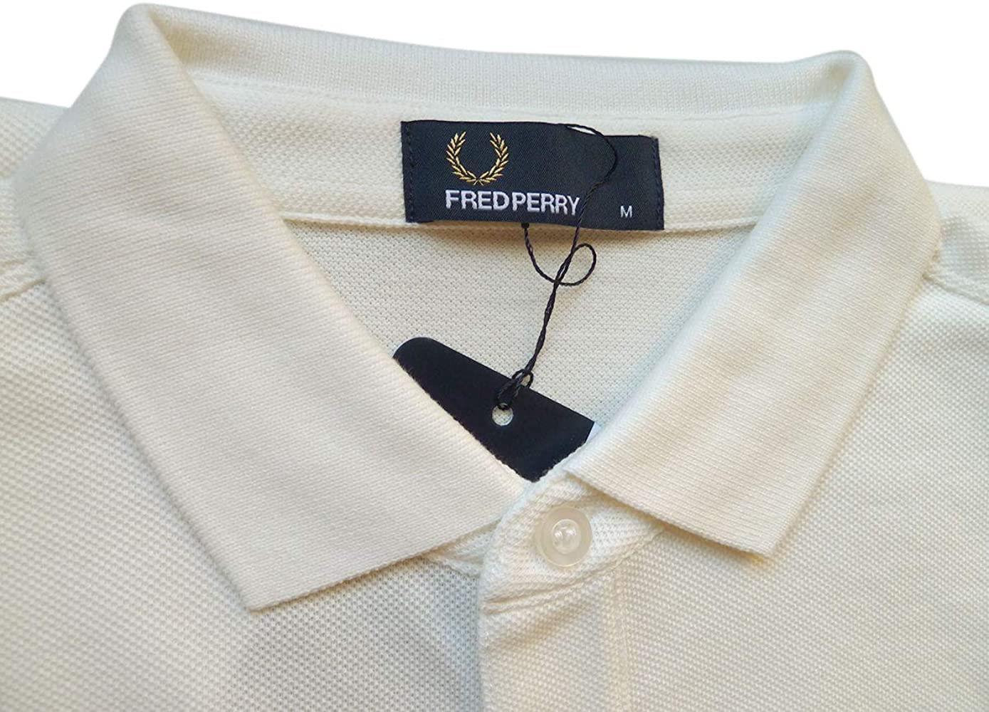 Fred Perry Polo Manga a Rayas Talla M: Amazon.es: Ropa y accesorios