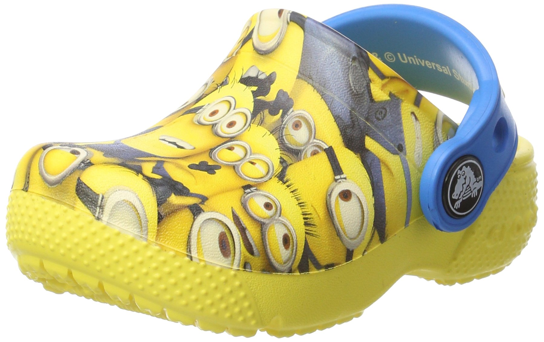 Crocs Crocksfunlab Minions Graphic Sunshine Ankle-High Clogs - 6M