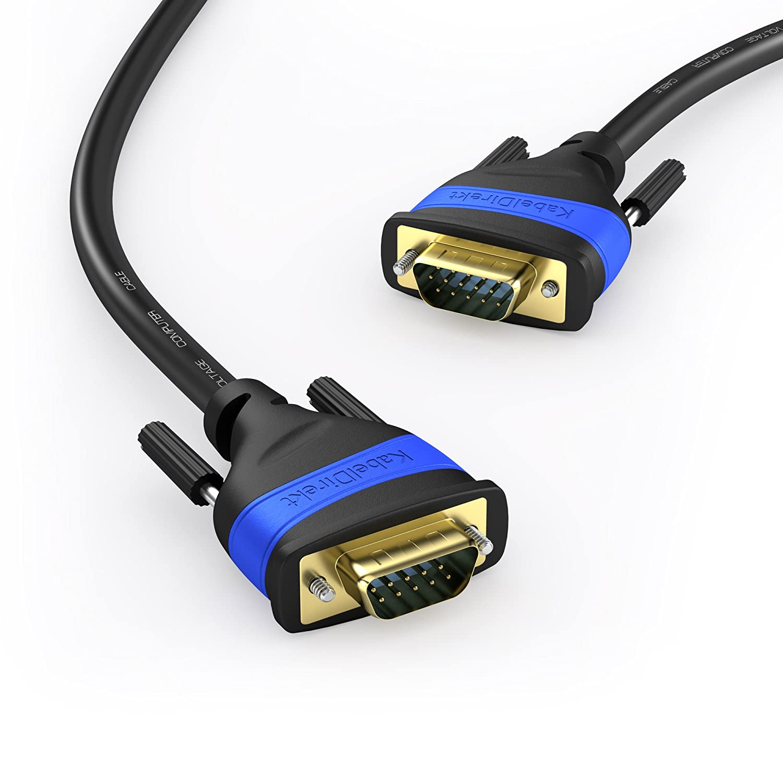 KabelDirekt - VGA Kabel - 3m - - TOP Series: Amazon.de: Computer ...