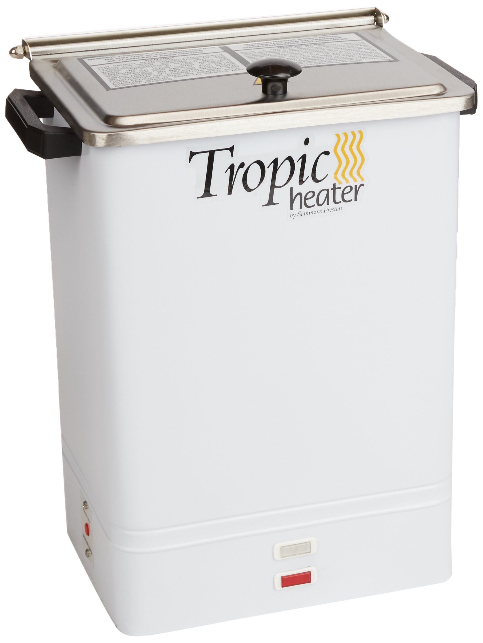 Sammons Preston Tropic Heater, Stationary Version, Heat System with 4 Tropic Pacs, Stainless Steel Collator Heating Unit Uses Hot Water to Warm Packs, Durable Racks Fit All Shapes of Moist Hot Pack