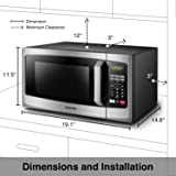 Toshiba EM925A5A-SS Microwave Oven with Sound