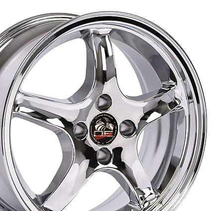 Amazon com: 17x9 Wheel Fits Ford Mustang - 4-Lug Cobra R