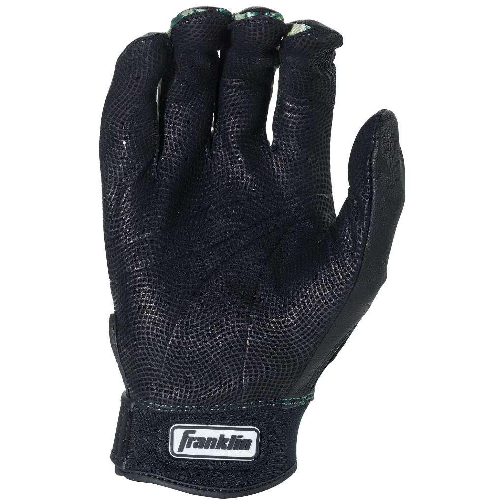 Franklin Sports Adult MLB CFX Pro Digi Series Batting Gloves, Pearl/Green, Small by Franklin Sports (Image #2)