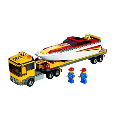Lego City - 4643 - Jeu de Construction - Le Camion et son Hydrospeed