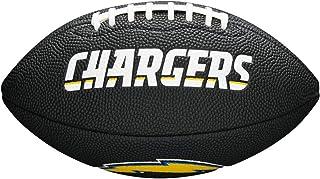 Wilson Los Angeles Chargers NFL–Ballon de Football, Couleur Noir WTF1533BLIDLAC