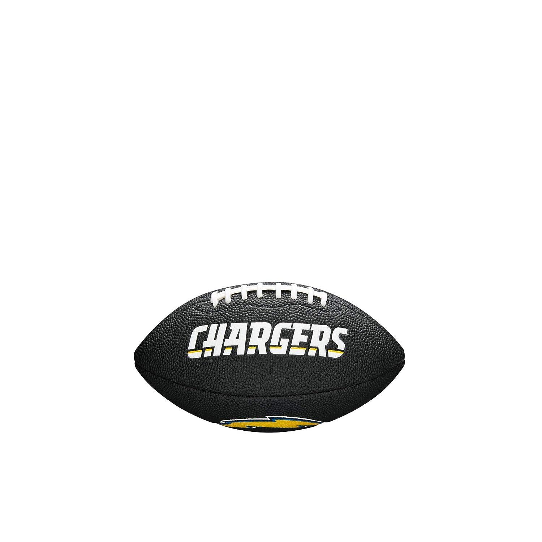 Wilson Los Angeles Chargers NFL - Baló n de fú tbol, Color Negro WTF1533BLIDLAC
