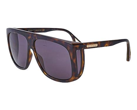 Gafas de Sol Gucci GG0467S HAVANA/BLUE hombre: Amazon.es ...